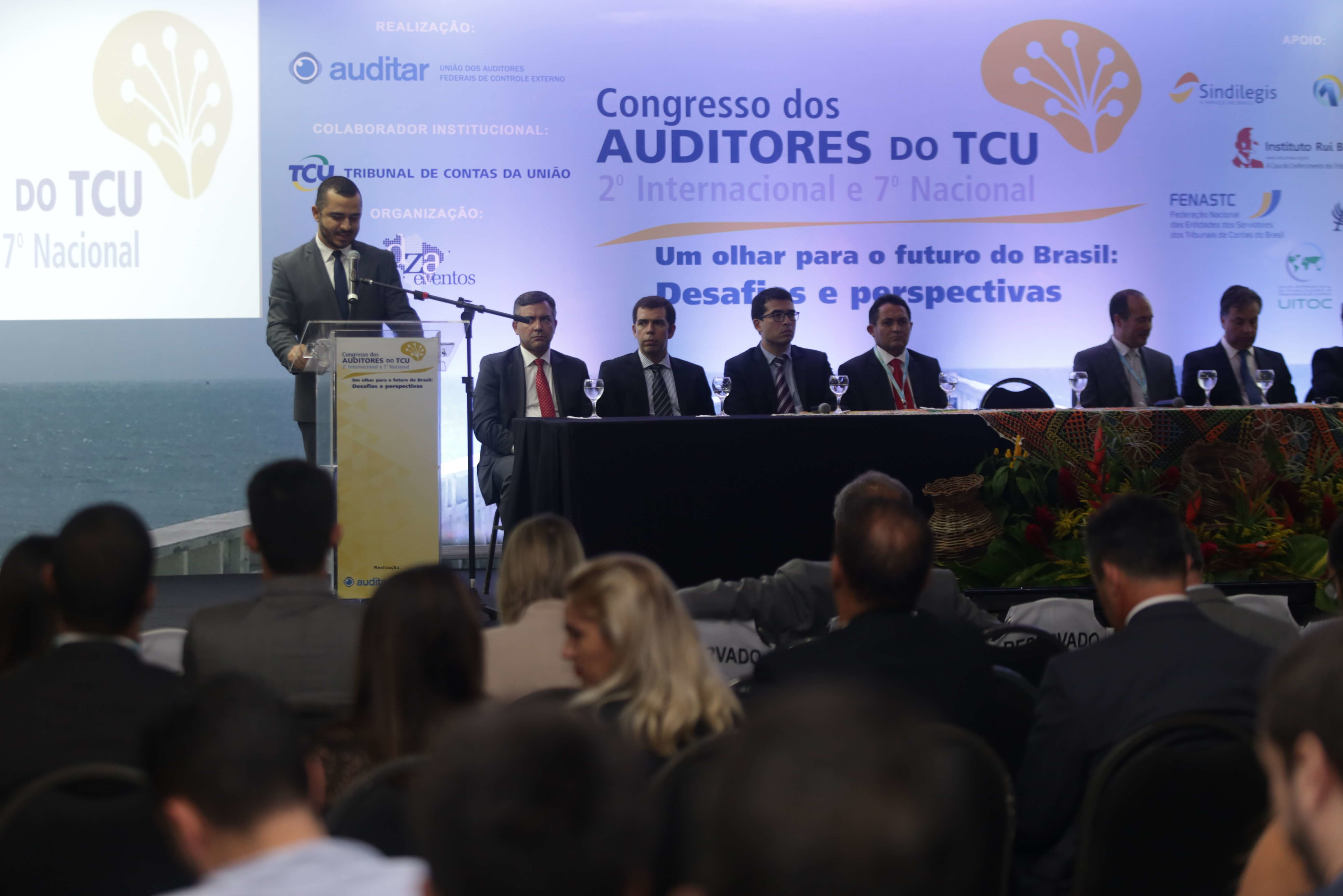 Abertura do Congresso dos Auditores do TCU é sucesso de público