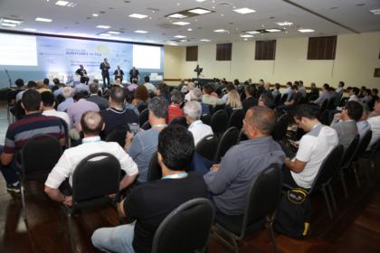 Congresso dos auditores do TCU: confira as fotos do primeiro dia de painéis